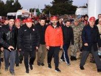 """Bakan Kasapoğlu: """"Bu cennet vatanı inşallah gençlerimizle birlikte ilelebet payidar kılacağız"""""""
