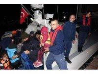 Çanakkale'de 74 mülteci yakalandı