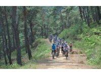 Bisiklet tutkunları Salihli'de buluşuyor