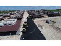 Oto Galericiler Sitesinde asfalt çalışmaları başlatıldı