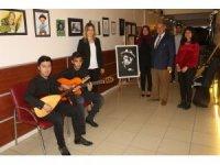 Okulda 'Aşıklar ve Ozanlar Sokağı' açıldı
