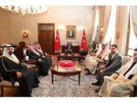 Suriyeli Aşiretler ve Kabileler Meclisi'nden, Vali Doğan'a ziyaret