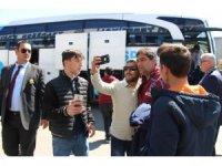 Trabzonspor, Fenerbahçe maçı için İstanbul'a gitti