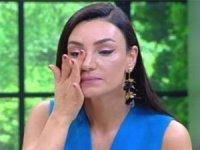 Sevcan Orhan gözyaşlarına boğuldu