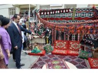 Uludere'de el sanatları sergisi açıldı