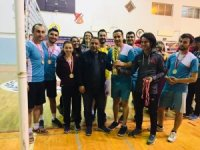 Ağrı'da öğretmenler arası voleybol turnuvası