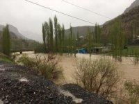 Habur Çayı'nda bazı evler boşaltıldı