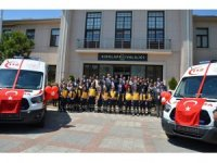 Sağlık Bakanlığından Kırklareli'ne 6 ambulans