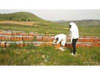 Gercüş'te çiftçilere arı kovanı dağıtıldı