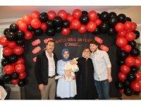 Annelere hastanede anlamlı kutlama