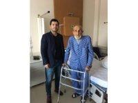 Konya'da 101 yaşındaki hasta kalça ameliyatıyla sağlığına kavuştu