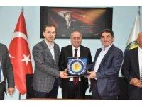 Ağrı heyetinden Trabzon ASKF'ye ziyaret