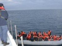 Ege'de 7 bin 378 düzensiz göçmenin yakalandığı