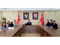"""Vali Mustafa Masatlı başkanlığında """"Damal Bebeği Projesi"""" ile ilgili toplantı yapıldı"""