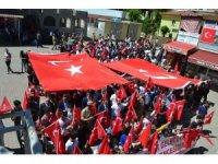 Sason'da gençlik yürüyüşü yapıldı