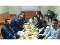 Rektör Alma öğrenci evinde iftar açtı