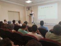 Bismil Devlet Hastanesi'nde işaret dili eğitimi