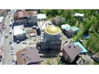 Beytüşşebap'ta Ulu Cami inşaatı sürüyor