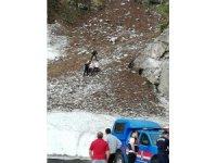 Artvin'de uçuruma yuvarlanan 1 kişi ölü bulundu