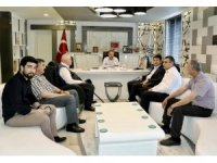 Milletvekili Tutdere Başkan Kılınç ile bir araya geldi