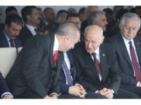 Erdoğan ve Bahçeli arasında sıcak sohbet