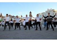 Yozgat'ta yüzlerce kişi atabarı oynadı