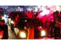 Diyarbakır'da şampiyonluk kutlamaları gergin geçti