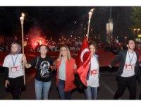 """Elazığ'da  """"Fener Alayı ve Gençlik Yürüyüşü"""""""
