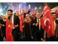 Kütahya'da 'Fener Alayı ve Gençlik Yürüyüşü' coşkusu