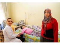 Evde fizik tedaviyle hem hastalar hem de aileler mutlu