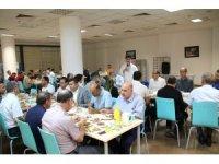 Rektör Karacoşkun, üniversite personeline iftar verdi