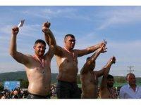 Edirneli pehlivandan Bulgaristan'da büyük başarı