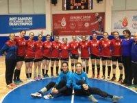Üniversite hentbol takımı Türkiye ikincisi oldu