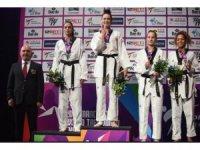 Dünya Tekvando Şampiyonası'nda İrem Yaman altın madalya kazandı