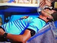 Bolivya'da skandal olay! Hakem öldü ama maç devam etti
