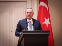 Bakan Çavuşoğlu, Meksika'da düşünce kuruluşu COMEXI konferansına katıldı