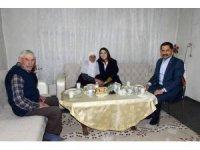 Vali Mustafa Masatlı ve eşi Karabağ ailesinin iftar sofrasına misafir oldu