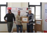 TİKA, Filistin'e desteklerini sürdürüyor