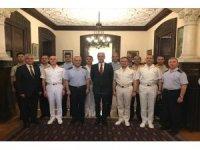 Milli Savunma Bakanlığı heyeti Atina'da Büyükelçi Özügergin ile toplantı yaptı