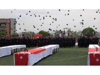 Kırıkkale PMYO'da mezuniyet coşkusu