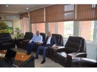 Karayolları Bölge Müdürü Çolak'tan Bayırköy'e ziyaret