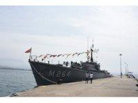 TCG Erdemli Mayın Avlama Gemisi Alanya'da