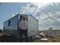 Bal üreticilerine güneş enerjili baraka desteği