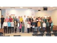 """Elazığ'da """"Yoğun Bakım Hemşireliği Sertifikalı Eğitim""""Programı tamamlandı"""