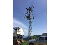 Kastamonu'da hırsızlar, elektrik kablolarını çaldı
