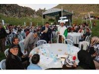 Sivrihisar'da iftar sofrası