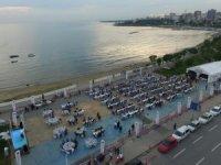 Caddebostan sahilinde iftar