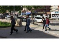 Kırşehir'de uyuşturucu ticareti yapan 3 kişi tutuklandı