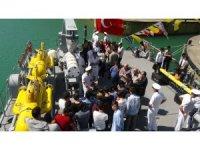 TCG Alanya Bartın'da ziyarete açıldı