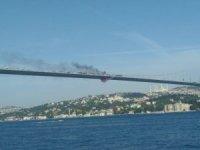15 Temmuz Şehitler Köprüsü'nde önce aracını ateşe verdi, sonra köprüden atladı